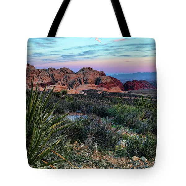 Red Rock Sunset II Tote Bag by Rick Berk