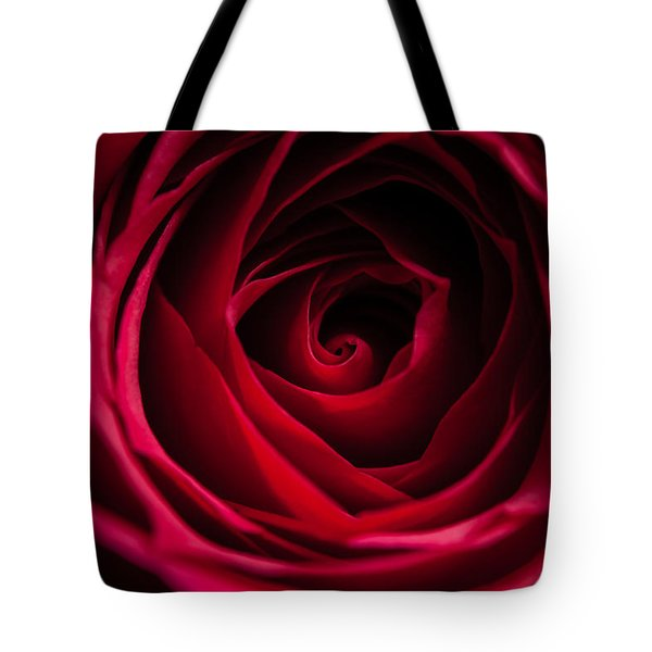 Tote Bag featuring the photograph Red Rose by Matt Malloy
