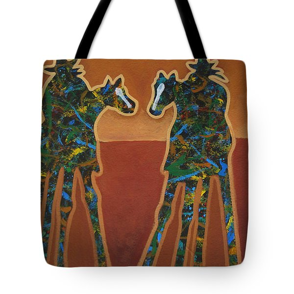 Red Sand Tote Bag by Lance Headlee