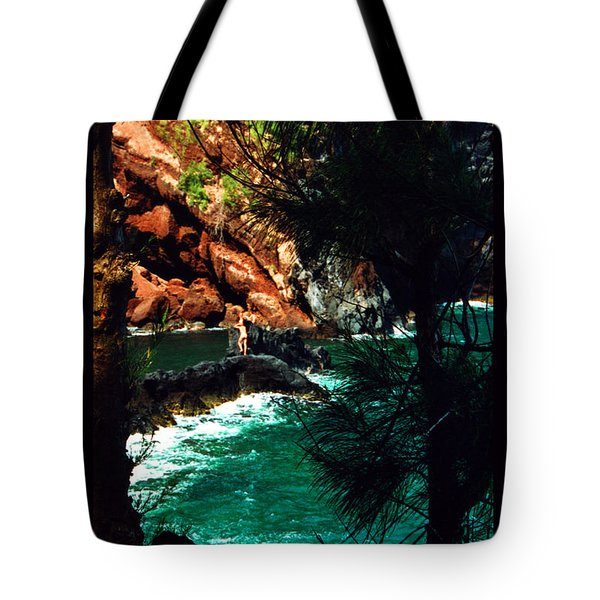 Red Sands Beach Maui Tote Bag