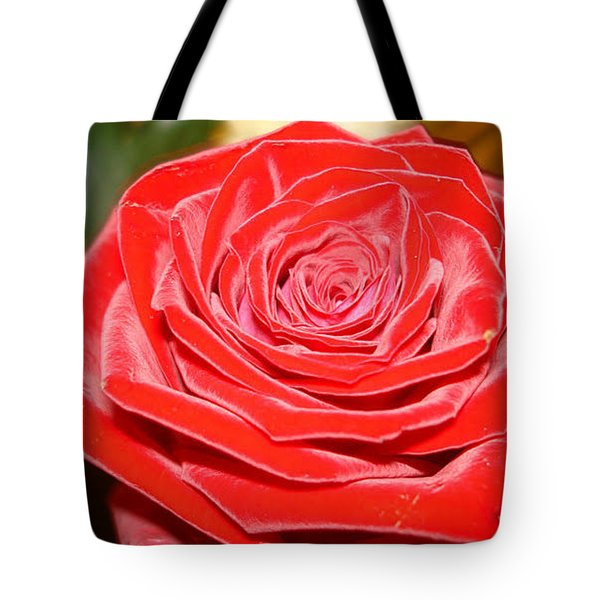 Tote Bag featuring the photograph Red Velvet by Katy Mei