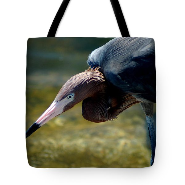 Reddish Egret 2 Tote Bag