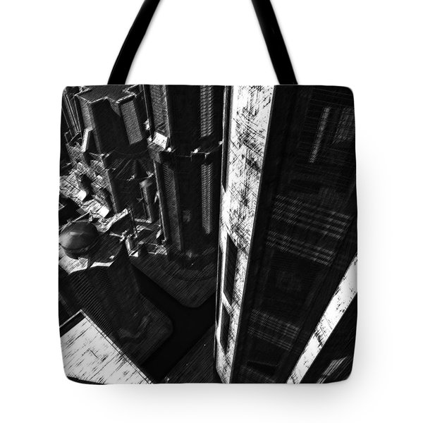 Redemption Tote Bag by Richard Rizzo