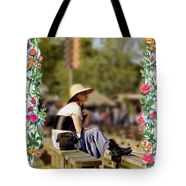 Redheaded Beauty Tote Bag by Brian Wallace
