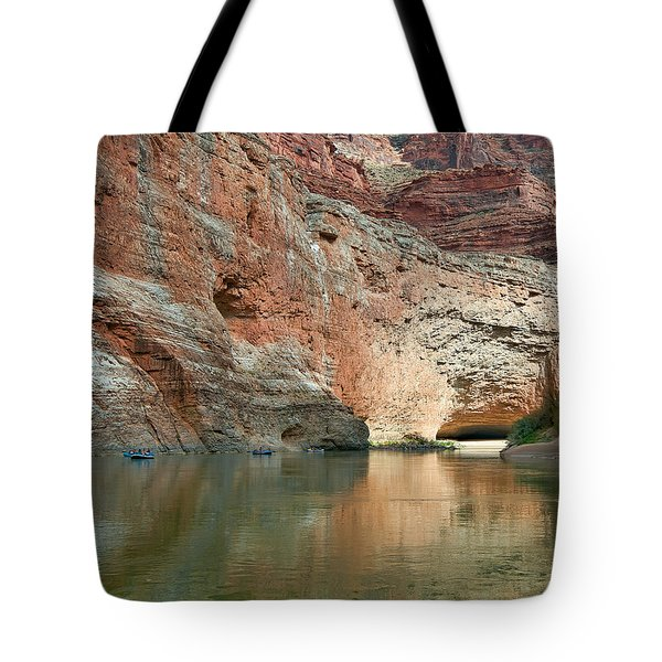 Redwall Approach  Tote Bag