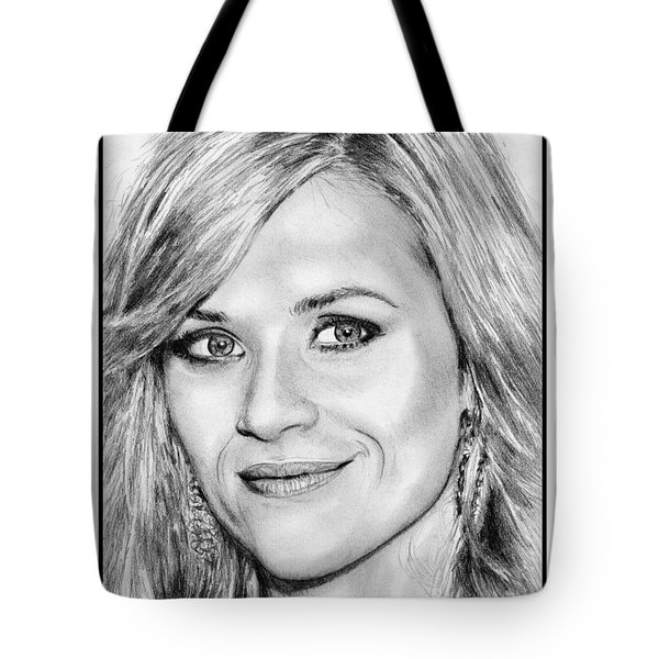 Reese Witherspoon In 2010 Tote Bag by J McCombie
