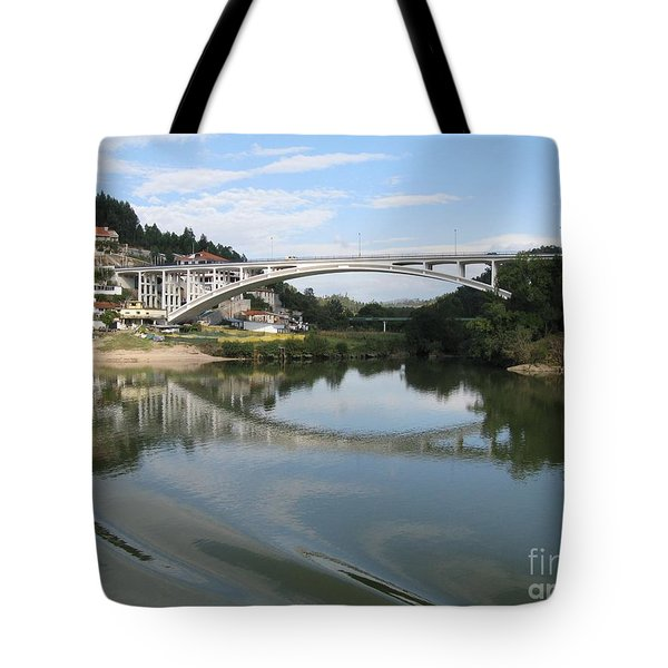 Tote Bag featuring the photograph Reflection by Arlene Carmel