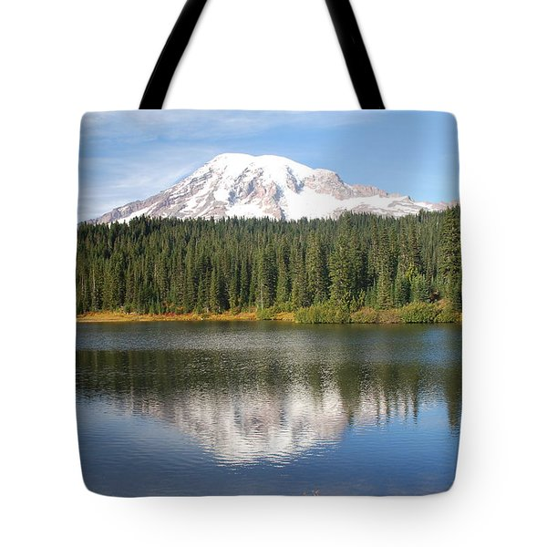 Reflection Lake - Mt. Rainier Tote Bag