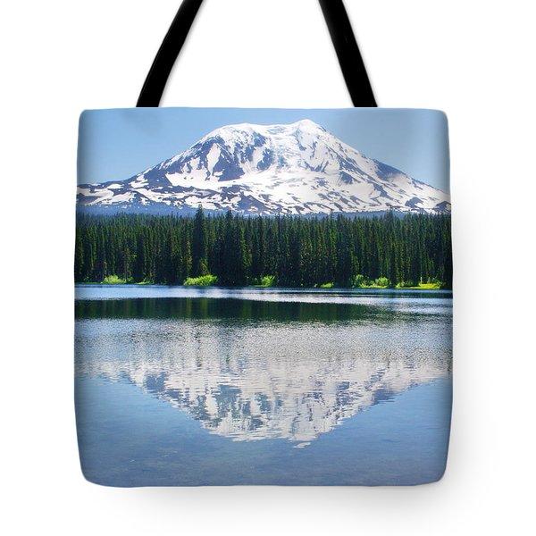 Reflection Of Adams Tote Bag