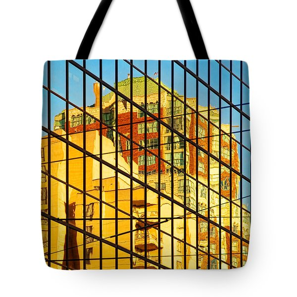 Reflections 1 Tote Bag by Mauro Celotti