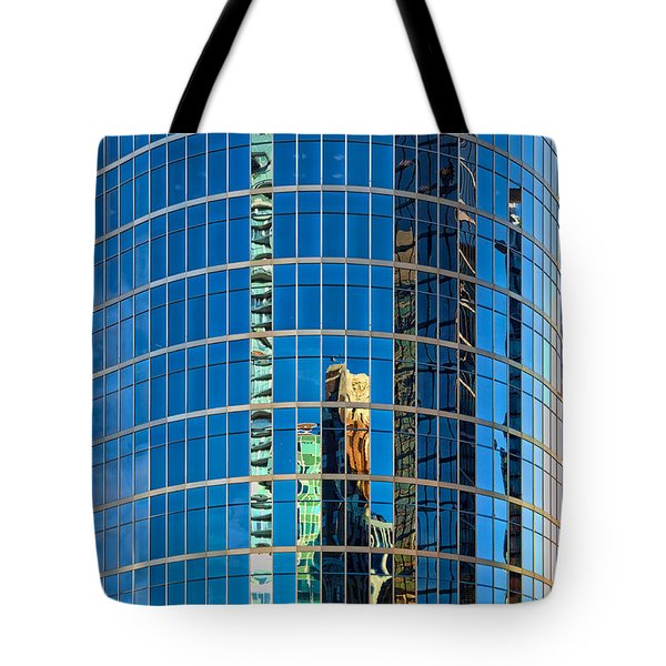 Reflections 3 Tote Bag by Mauro Celotti