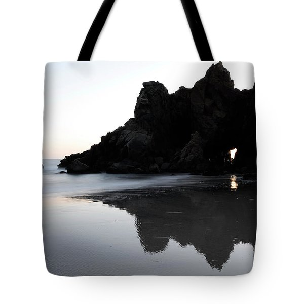Reflections Big Sur Tote Bag by Bob Christopher
