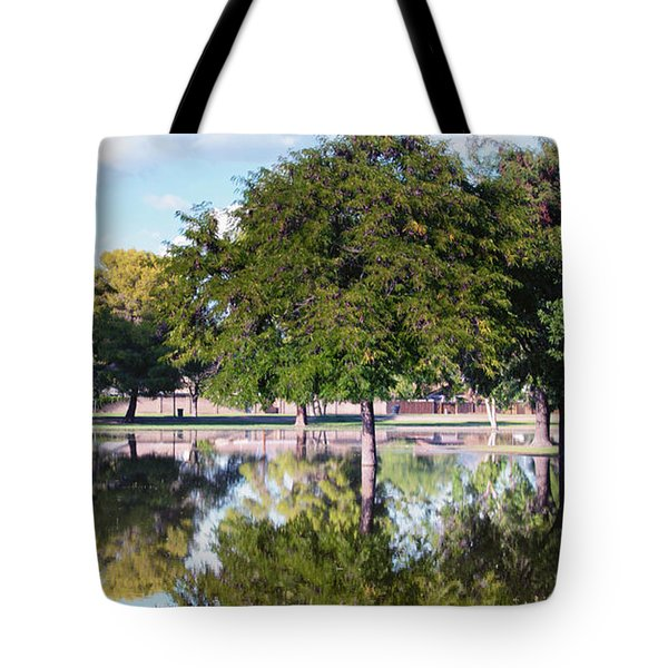 Reflections Tote Bag by Diane Wood