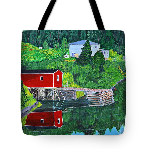 Reflections H D R Tote Bag by Barbara Griffin