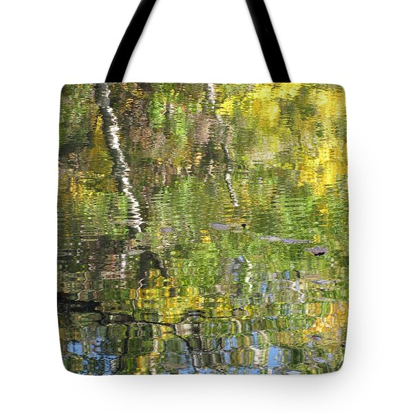 Reflections In Paradise 1 Tote Bag by Anita Burgermeister