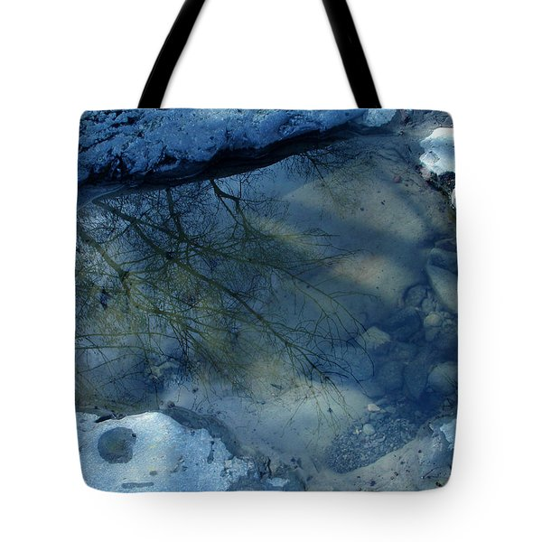 Reflections In Water Tote Bag by Colette V Hera  Guggenheim