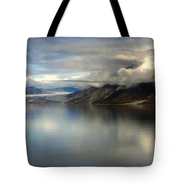 Reflections Of Stillness Tote Bag by Karen Wiles