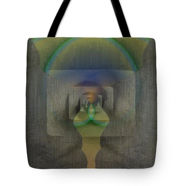 Reflections Of The Soul Tote Bag by Tim Allen
