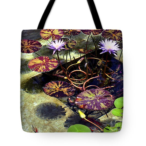 Tote Bag featuring the photograph Reflections On Underwater Life by Clayton Bruster