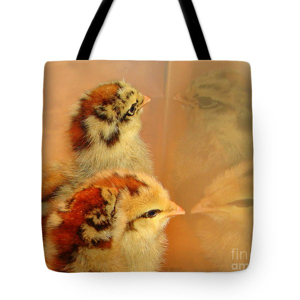 Reflections Tote Bag by Priscilla Richardson