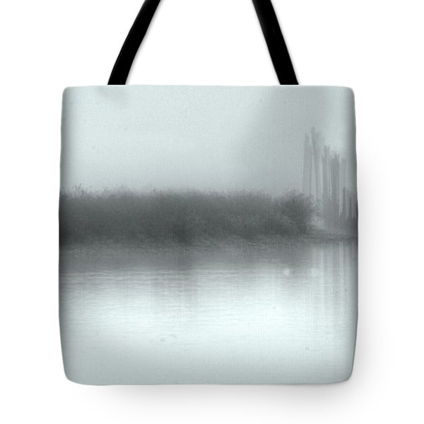 Reflections Through The Fog Tote Bag