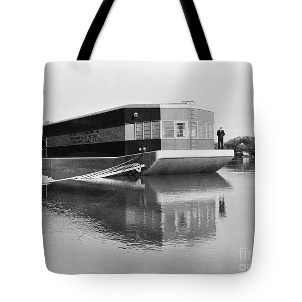 Refrigerated Barge, C1935 Tote Bag by Granger
