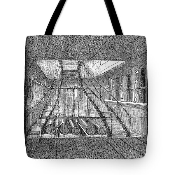 Refrigerated Ship, 1876 Tote Bag by Granger