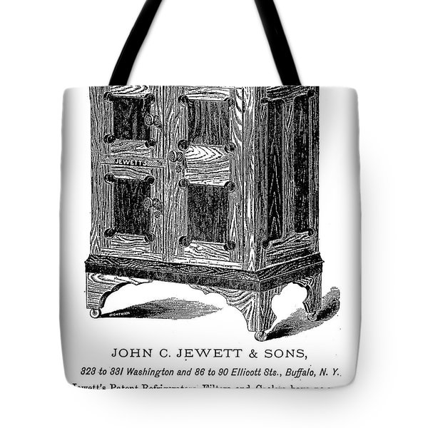 Refrigerator, 1876 Tote Bag by Granger