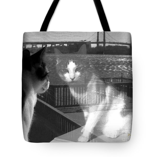 Reggie Reflected Tote Bag by Dale   Ford