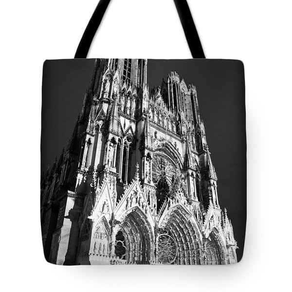 Reims Cathedral Tote Bag