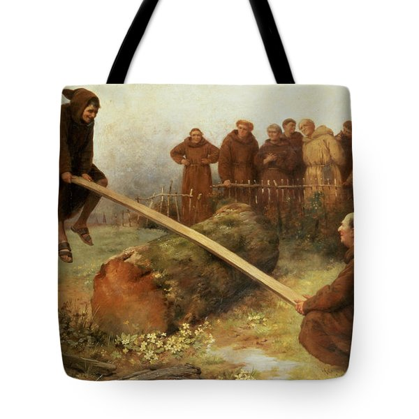 Religion Was Never Designed To Make Our Pleasure Less Tote Bag by William Strutt