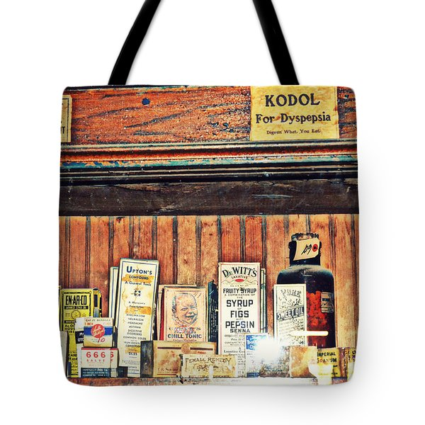 Remedies Tote Bag