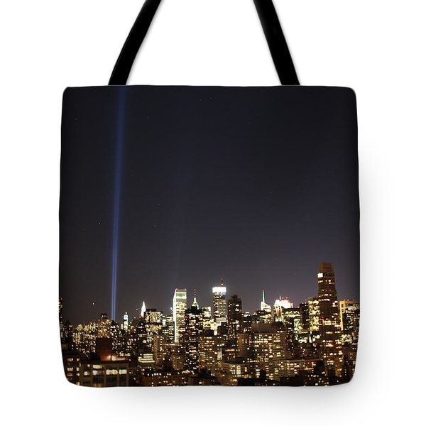 Remember The Heroes Tote Bag by Catie Canetti