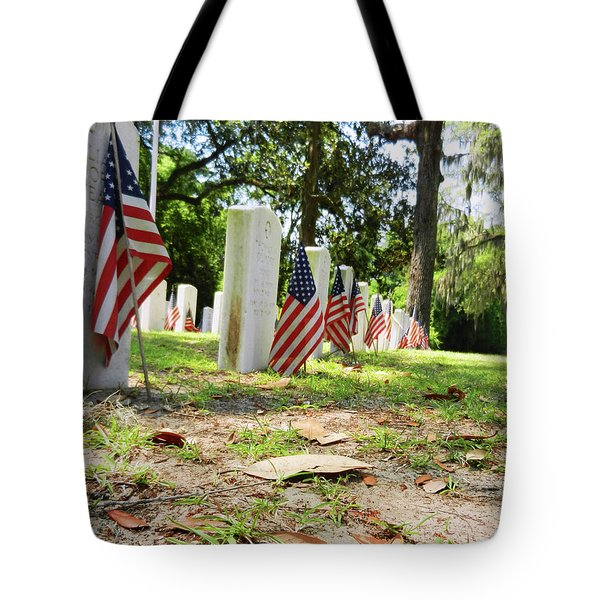 Tote Bag featuring the photograph Remember The Sacrifice by Paul Mashburn