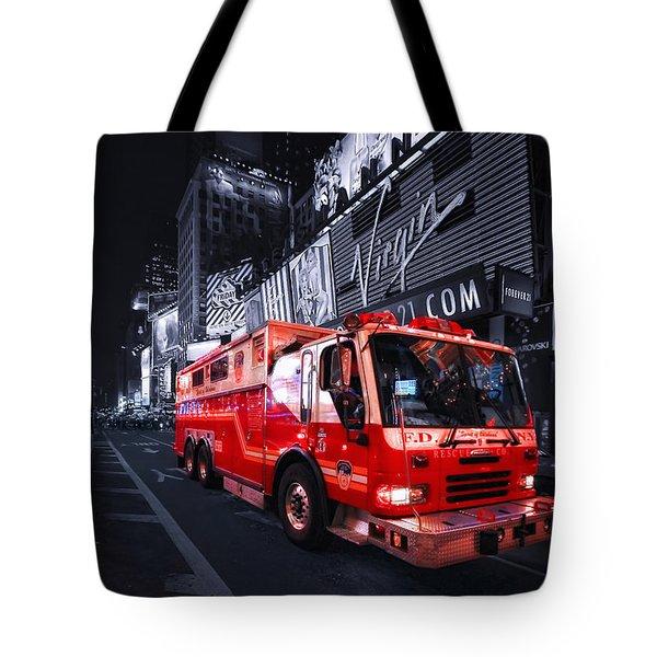 Rescue Me Tote Bag by Evelina Kremsdorf