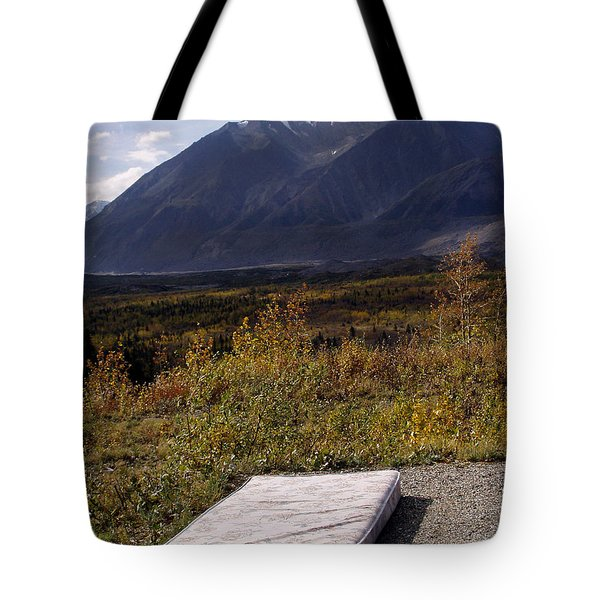 Rest And Enjoy The Great Outdoors Tote Bag by Karen Lee Ensley