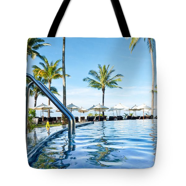 Rest View Tote Bag