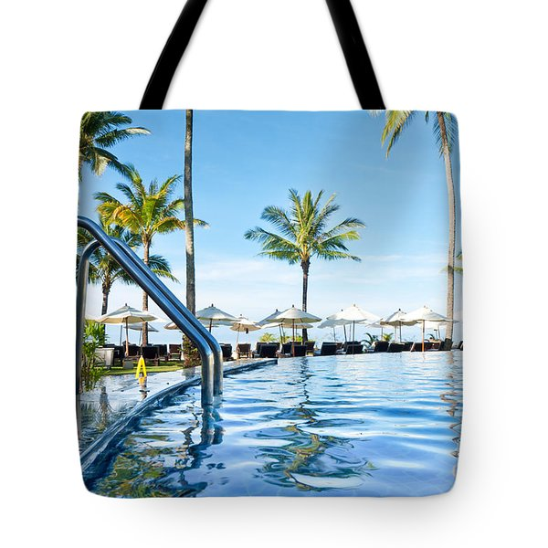 Rest View Tote Bag by Atiketta Sangasaeng