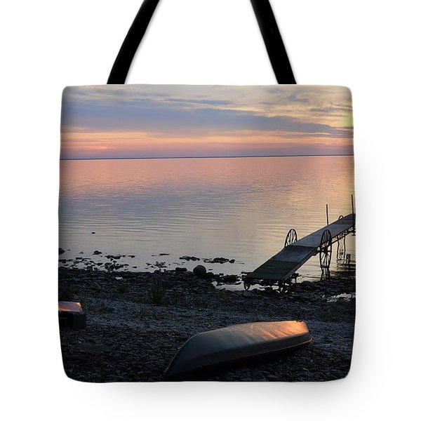 Restful Waters Tote Bag