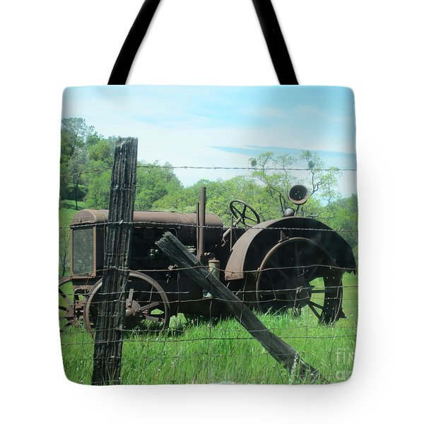 Retired Tote Bag by Laurianna Taylor