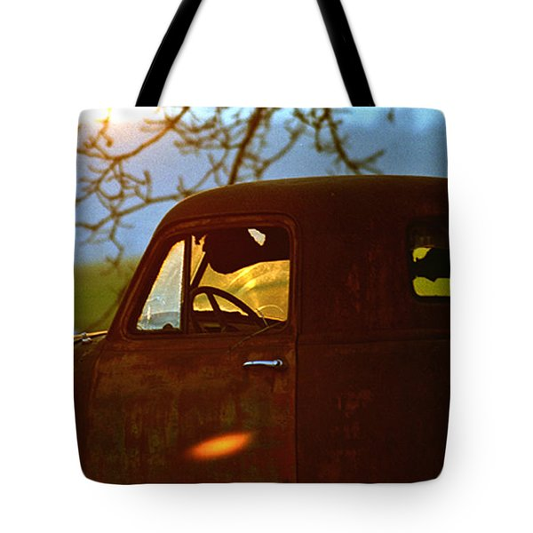 Retirement For An Old Truck Tote Bag