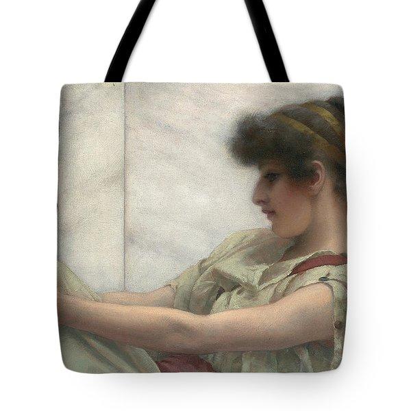 Reverie Tote Bag by John William Godward