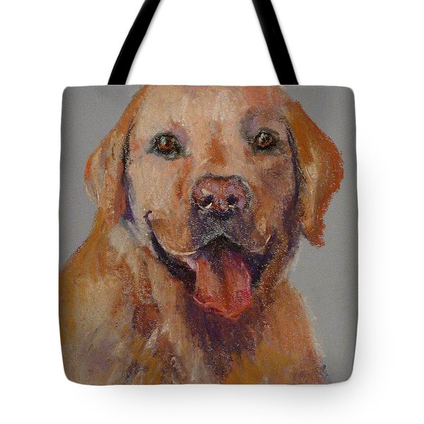 Tote Bag featuring the painting Rex  by Carol Berning