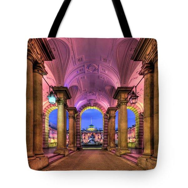 Rhapsody In Pink Tote Bag
