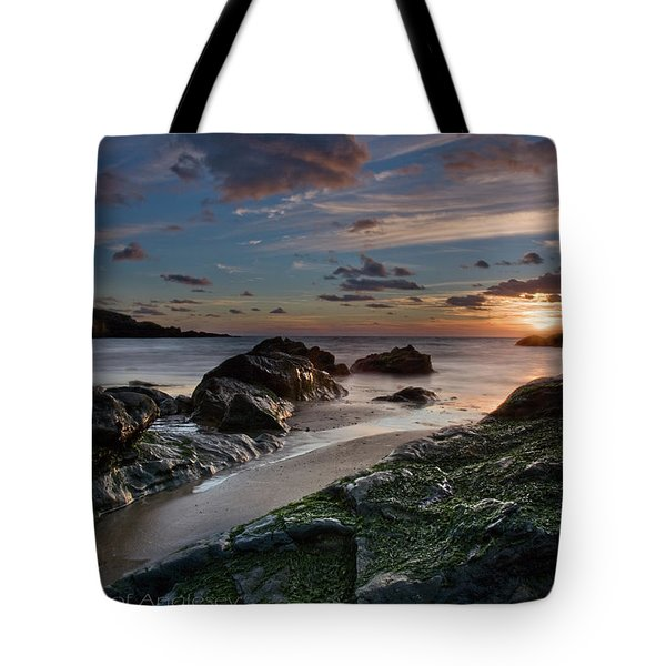 Tote Bag featuring the photograph Rhosneigr Sunset  by Beverly Cash