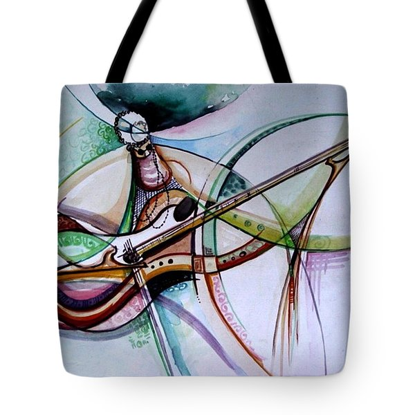 Rhythm Of The Strings Tote Bag