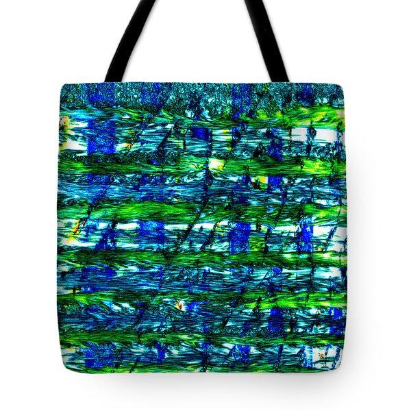 Tote Bag featuring the mixed media Rice Harvest by Terence Morrissey
