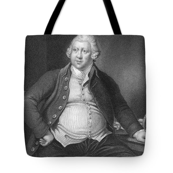 Richard Arkwright, English Industrialist Tote Bag by Photo Researchers
