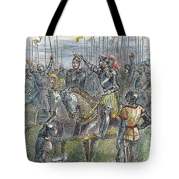 Richard IIi At Bosworth Tote Bag by Granger