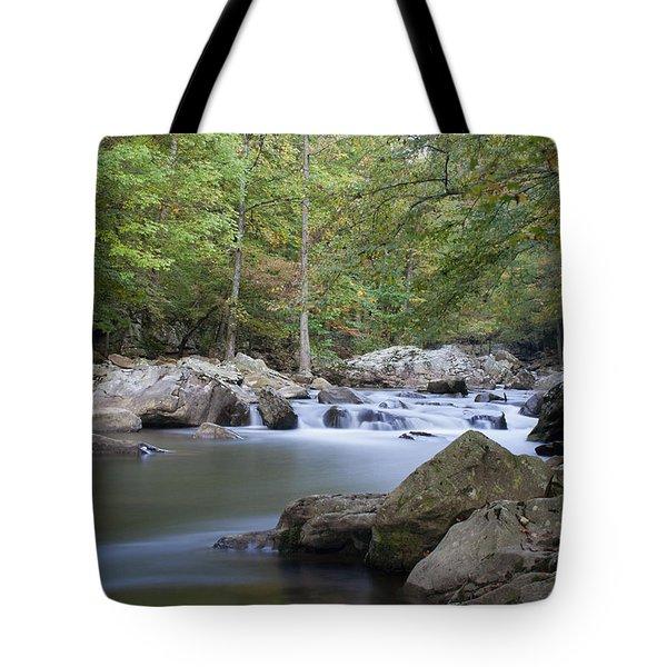 Richland Creek Tote Bag by David Troxel